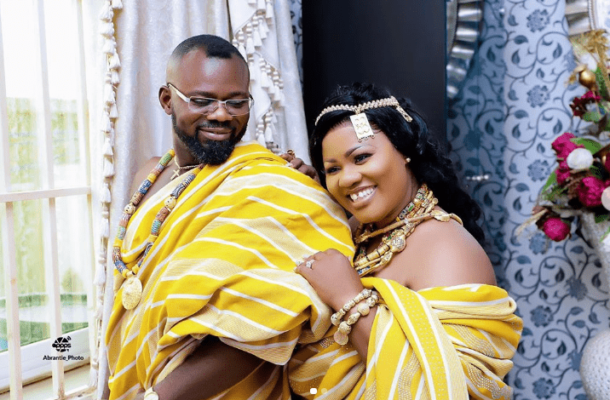 Obaapa Christy drops lovely photos with husband to mark marriage anniversary