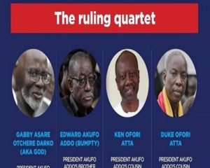 """Photos and Positions of the alleged members of Nana Addo's """"Family and Friend government"""" released"""