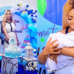 Regina Daniels and billionaire husband hold naming ceremony for their son