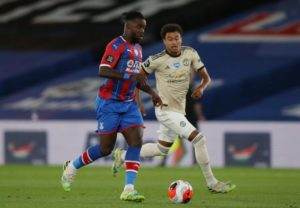 Ghana's Jeff Schlupp makes injury return for Palace in United defeat