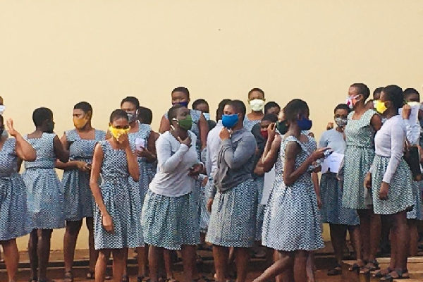 All 63 Accra Girls, Achimota SHS students who tested positive for COVID-19 recover