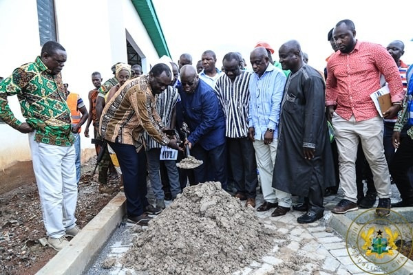 Akufo-Addo cuts sod for new Eastern Regional hospital on Wednesday
