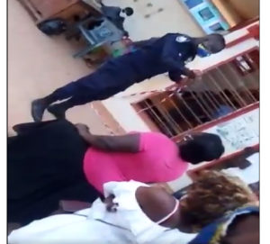 Police identifies and probes officer who slapped woman in viral video