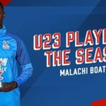 Teenager Malachi Boateng crowned Crystal Palace U-23 player of season