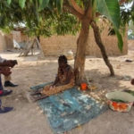 Vice President Bawumia supports 80-year-old leper with two-bedroom home