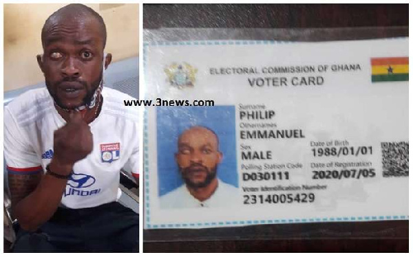 Nigerian with new voter ID arrested at Aflao border