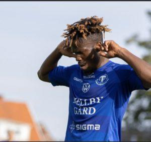 VIDEO: Ex-Kotoko striker Abdul Fatau Shafiu scores fifth goal of the season for Trelleborgs FF
