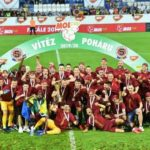 Ghana's Benjamin Tetteh lifts MOL Cup with Sparta Prague