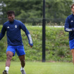 Ebenezer Assifuah trains with new club Pau FC