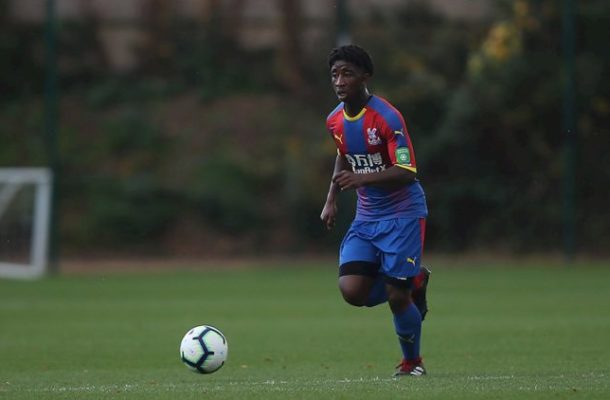 Young David Boateng handed contract extension by Crystal Palace