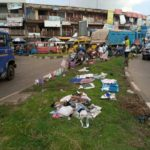 'Recalcitrant' Kumasi traders resort to Kejetia lawns as a place for drying washed clothes