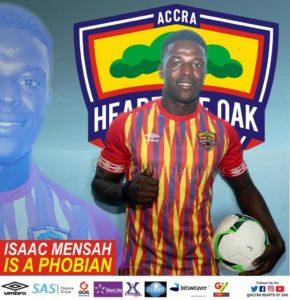 I'm very ready for Kotoko clash and hopefully we win - Isaac Mensah