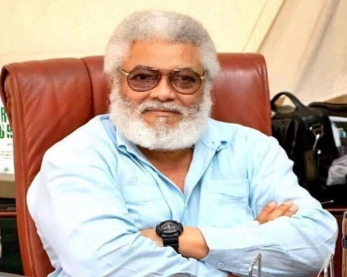 Rawlings hits back at Kwesi Adu, challenges him to 'open his mind and eyes'