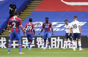 VIDEO: Jeffrey Schlupp scores as Jordan Ayew provides the assist in Tottenham draw