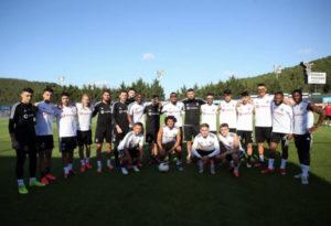 PHOTOS: K.P Boateng bids farewell to his Besiktas teammates