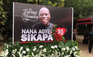 PHOTOS: Tears flow as Peace FM's Nana Agyei Sikapa laid to rest