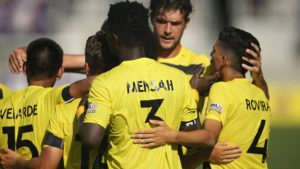 VIDEO: Ropapa Mensah nets first goal for his USL side Pittsburgh Riverhounds