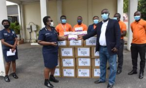StarTimes donates 10,000 face masks to Ghana Police Service