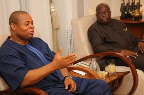 Sack Hawa Koomson or lose my friendship – Franklin Cudjoe charges Akufo-Addo