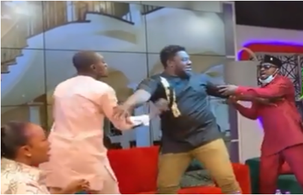 VIDEO: Funny Face and Lil Win clash on live TV