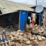 Five injured after building collapses in Yeji