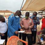 PHOTOS: John Kumah tours voter registration centres in Ejisu constituency