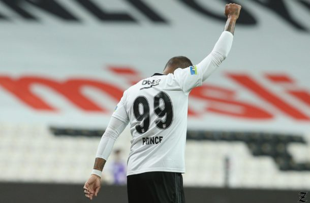 Anti-racism advocate Kevin Prince Boateng celebrates goal in style