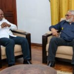 Mahama briefs Rawlings on NDC-related issues