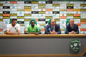 PHOTOS: PFC Ludogorets outdoor new signing Bernard Tekpetey