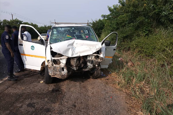Two NDC supporters killed in motor crash with scores injured