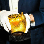 The strange tale of Nelson Mandela's gold-cast hands