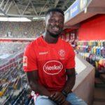Fortuna Düsseldorf's Nana Ampomah year positive for Covid-19