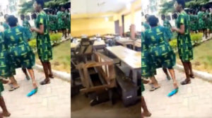 We'll deal with you – GES tells rioting students