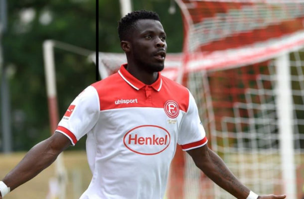 Exclusive: Relegated Fortuna Duesseldorf determined to keep star forward Nana Ampomah
