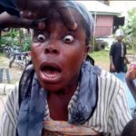 Fake blind woman exposed and nabbed in Nigeria