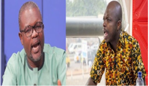 VIDEO: Abronye DC and Alhaji Halidu curse themselves on radio