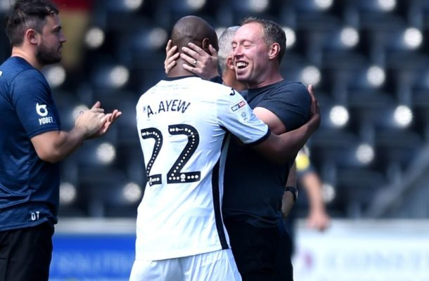 Andre Ayew is better than our level - Steve Cooper