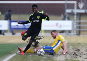 Ghanaian defender Benson Anang returns to MŠK Žilina after three month quarantine