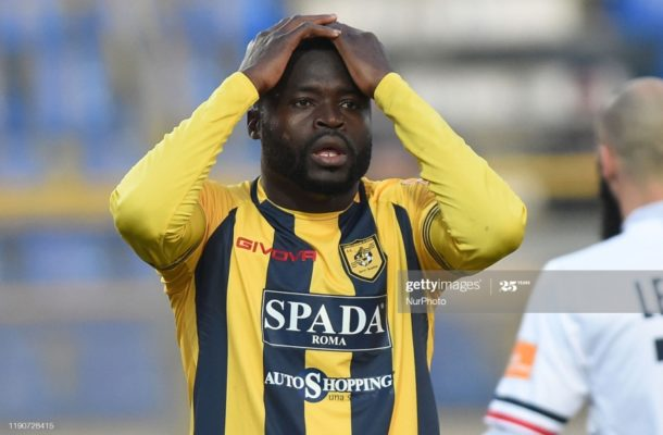 Bright Addae suffers relegation to Italian Serie C with Juve Stabia