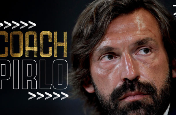 Juventus names Andrea Pirlo as new coach