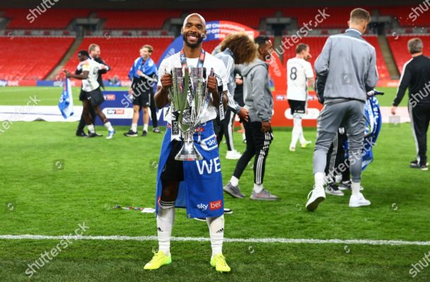 Denis Odoi helps Fulham beat Brentford as they secure Premier League promotion