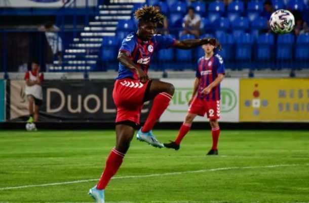 VIDEO: Edmund Addo nets solo goal for FK Senica in Michalovce victory
