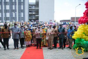 Somanya: Akufo-Addo commissions University of Environmental and Sustainable Development