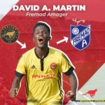 Danish Club Fremad Amager signs Cheetah Fc's David Anane Martin