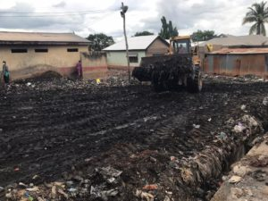 Zoomlion clears heap of refuse at Lamashegu after viral video plea