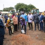 Akufo-Addo cuts sod for new 400-bed Maternity block, 101-bed Urology centre at Korle Bu