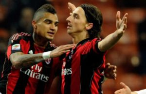 VIDEO: KP Boateng responds to Ibrahimovic: dive into the sea from the yacht