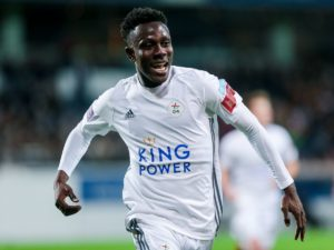 Kamal Sowah scores in OH Leuven's draw with Sporting Charleroi