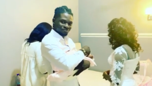 VIDEO: Kuami Eugene welcomes first child
