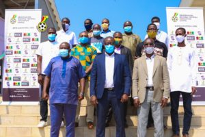 PHOTOS: GFA President pays working visit to Greater Accra RFA
